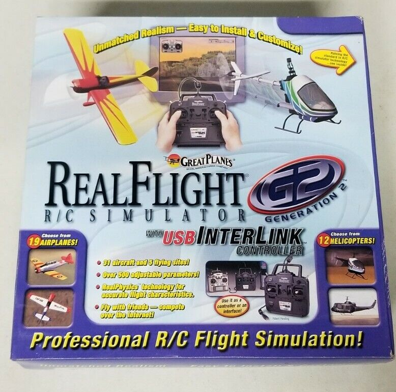 Real Flight R/C Simulator Generation 2 G2 Lite BRAND NEW SEALED RARE