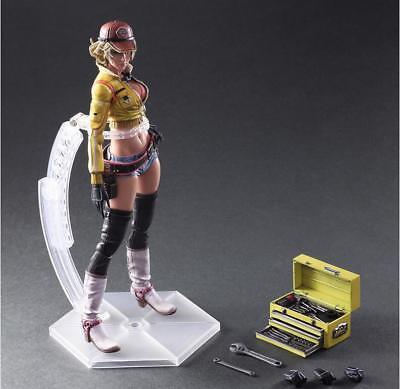 Play Arts Kai Final Fantasy XV FF15 Cindy Aurum Mechaniker Action Figur Figuren