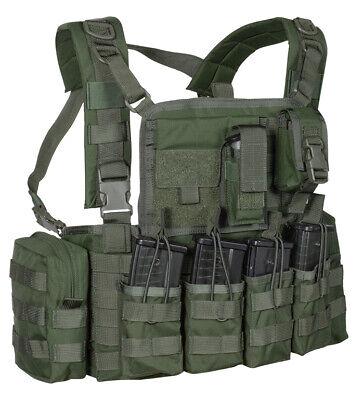 NEU US CHEST RIG Lightweight MOLLE Tactical Einsatzweste BW Modular System