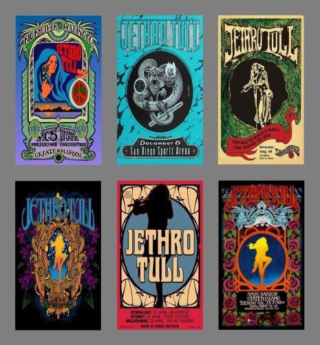 6 Jethro Tull Magnets