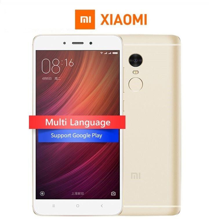 NEW Xiaomi Redmi Note 4 5.5 inch MIUI 8 3GB RAM 32GB SD 625 2.0GHz 8 Core CPU 13MP Camera Finger ID