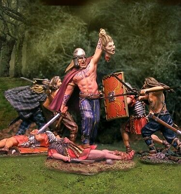 THE COLLECTORS SHOWCASE ROME 43AD CS00748 BARBARIAN VICTORIOUS MIB