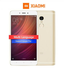 "NEW Xiaomi Redmi Note 4X PRO MIUI 8 4GB RAM 64GB MTK Helio X20 Deca Core 5.5"" 1080P 13.0mp Finger ID"