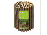 BARGAIN ** GARDEN BORDER / EDGING ** WILLOW ** 4 ROLLS FOR THE PRICE** BRAND NEW **