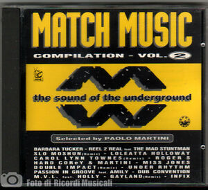 MATCH-MUSIC-COMPILATION-VOL-2-1994-By-Paolo-Martini