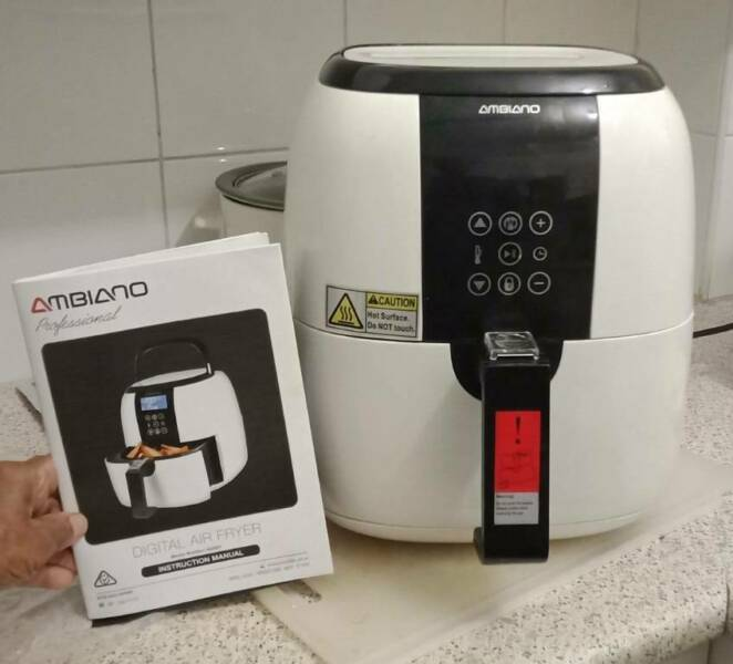Ambiano Air Fryer Directions