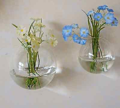 Hanging Glass Flower Planter Vase Terrarium Container Home Garden Ball Decor ](Hanging Glass Terrarium Containers)