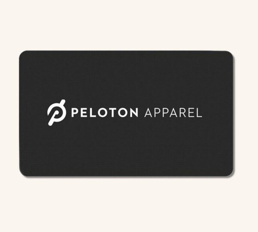 100 Peloton Apparel Gift Card - 40 Off - Best Price - Immediate Send - $50.00