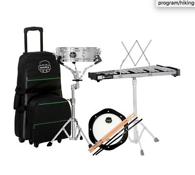 (Mapex Snare Drum Student Kit with Bell and Percussion)