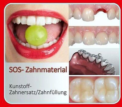 Provisorischer Zahnersatz Zahnzement Füllung Zahnlücke NEU