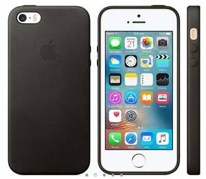 iPhone SE Leather Case - Black – Apple Brand Sippy Downs Maroochydore Area Preview