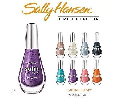 Sally Hansen Satin Glam Nail Polish Multiple Shades ~*Choose Your Colors!*~