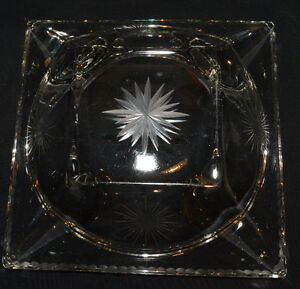 Crystal candy/coffee table dish Kitchener / Waterloo Kitchener Area image 2