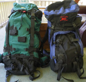 2 Back Country Backpacks for Sale - almost new