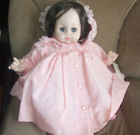 vintage 60s madame alexandera  Doll, tag and outfit, burnette