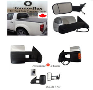 Tonneau Cover Towing mirrors for Dodge ram Ford Silverado Sierra