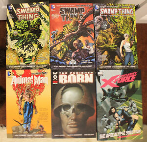 Marvel Graphic Novels For Sale (Swamp Thing, Punisher, and more)