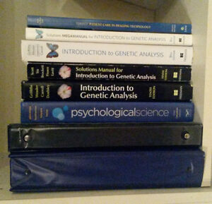 Selling: Textbooks for University Life Sciences, Physics & more!