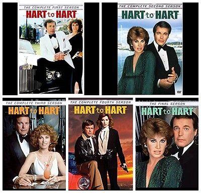 Hart to Hart Robert Wagner Complete TV Series Seasons 1-5 1 2 3 4 5 NEW DVD SET