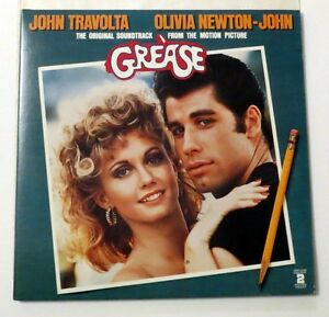Grease Original Movie Soundtrack Vinyl LP Double Album