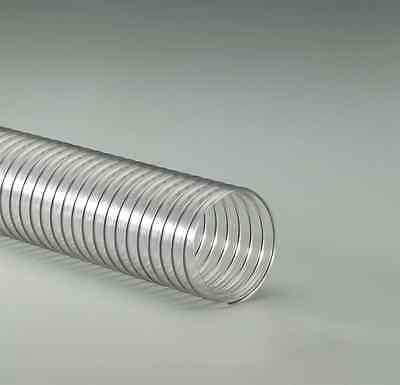 Clear Pvc Ducting Hose 2.00 In Id X 10 Ft
