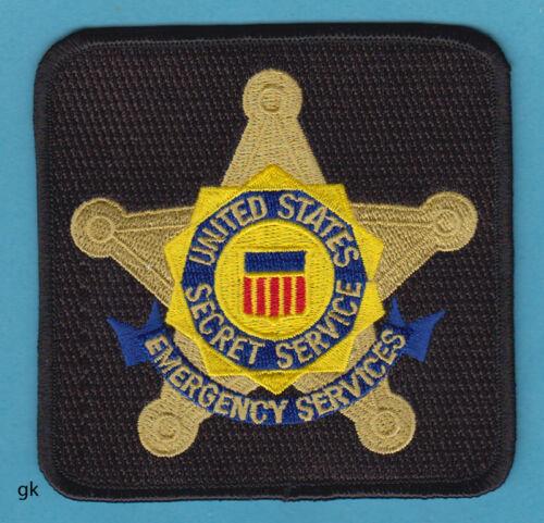 UNITED STATES SECRET SERVICE EMERGENCY SERVICES SHOULDER PATCH