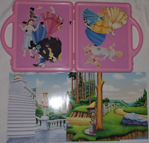 Qty 2 x Disney Princess Fashions - Magnetic Book and Play Sets London Ontario image 3