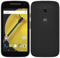 Mint Condition MOTO E 2nd (Black)(Wind )-8GB=$130