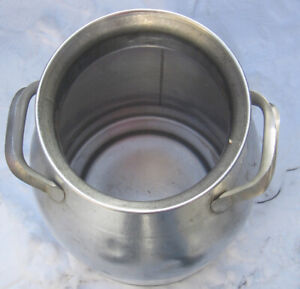 Vintage Stainless Steel 40 Quart Milk Can