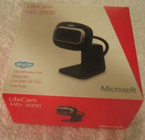 New Camera – Lifecam HD 3000 - WebCam Microsoft