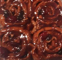 FRESH HOMEMADE OLD FASHIONED CHELSEA BUNS, made to order.
