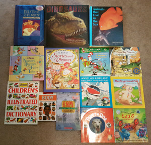 Kids story book & DVDs