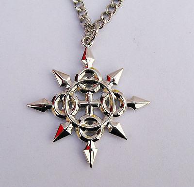 Kingdom Hearts Axel Eternal Nice Flames Symbol Metall Halskette Anhänger Amulett