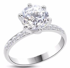 2.02 carat 14K fancy new diamond engagement ring  CAD 13.395