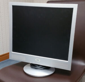 "Monitor - used 17""  flat screen - Cicero brand"