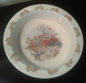 Old Vintage Royal Doulton Bunnykins Cereal Bowl...