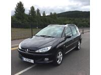 Peugeot 206 Verve SW Estate 1.6 petrol AUTOMATIC, full service history one owner