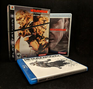 Metal Gear Solid 4: Limited Edition (Sony PS3, Like NEW)