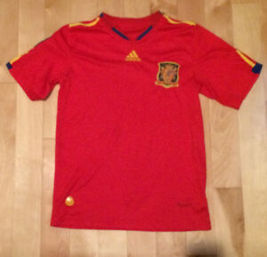 Spain 2010 Olympic Jersey