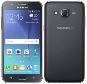 Téléphone intelligent Samsung Galaxy J7 Noir dual sim