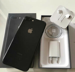 iPhone 8 plus 256gb (black)