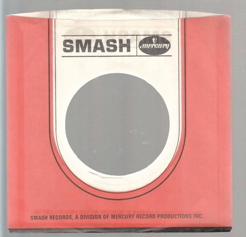 Company Sleeve 45 Smash / Mercury Orange/white W/ Black Lettering On
