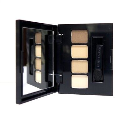 Estee Lauder Eye Shadow Mirrored Palette- Brown And Neutral Colours - 4 Shades