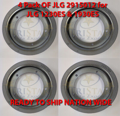 Jlg 2915012 Non-marking Tire 4 Pack - New Fits 1230es 1930es Scissor Lifts