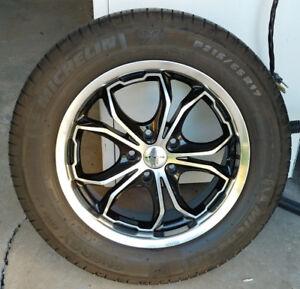 4 mags RTX pneus d'été 215-65-17