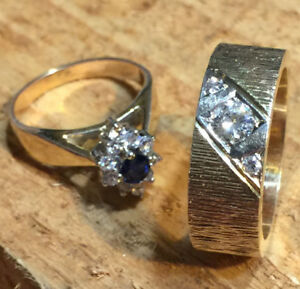 14 CT Gold rings