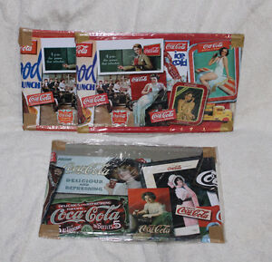 Coke Collectables, puzzles tins, tin signs & Tie