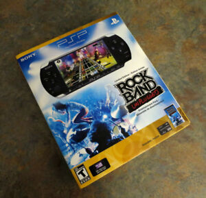 Sealed PlayStation Portable (PSP) Rock Band Unplugged Edition