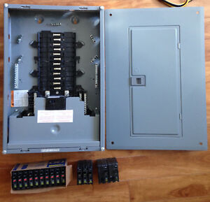 100 amp square D electrical panel