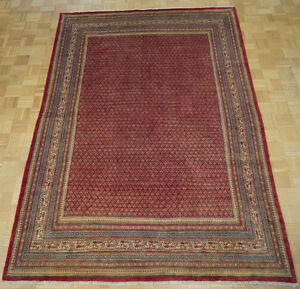 16962-Sarough Mir Hand-Knotted/Handmade Persian Rug/Carpet Triba